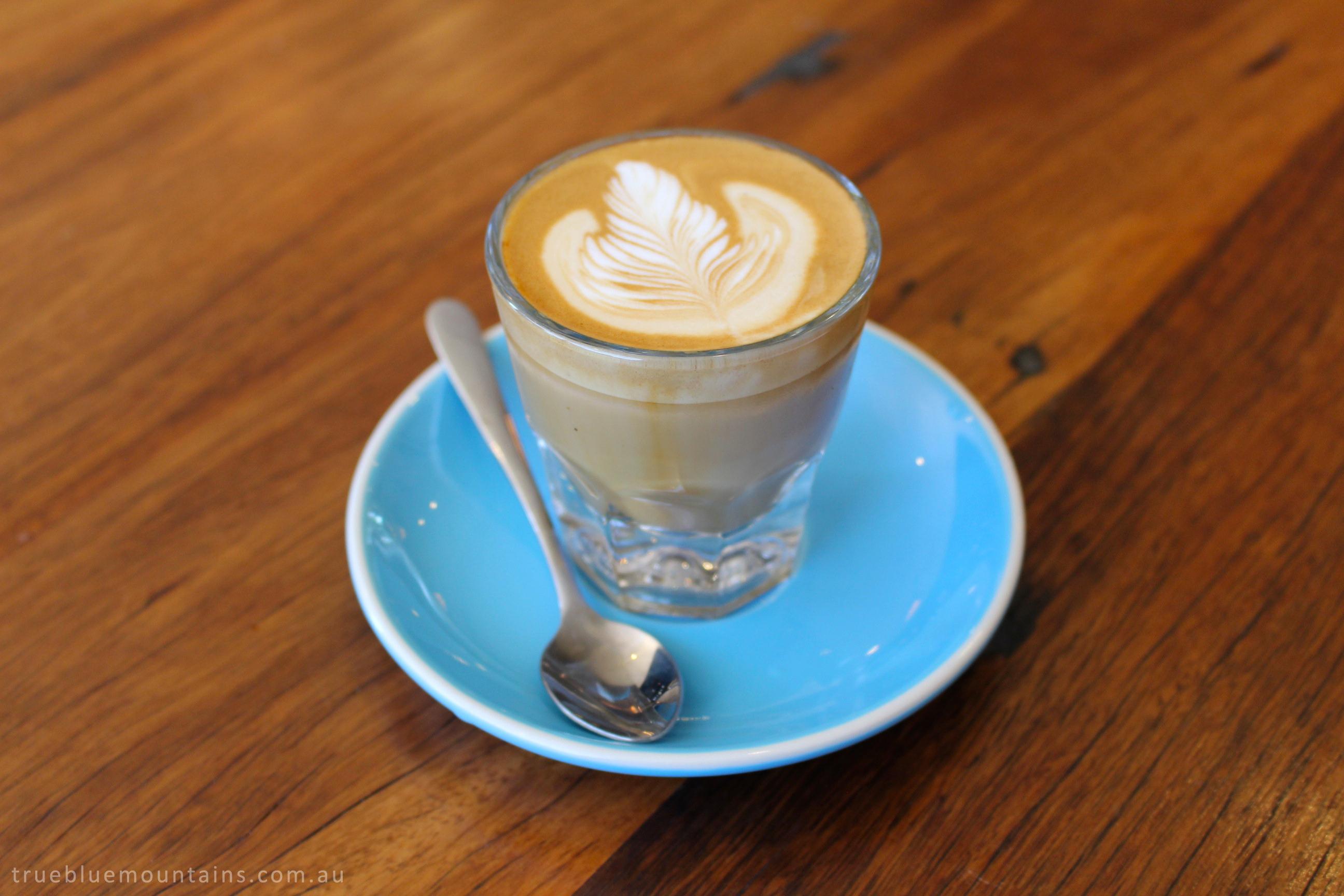 Cortado-coffee